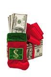 Cadeaux d'argent Images stock