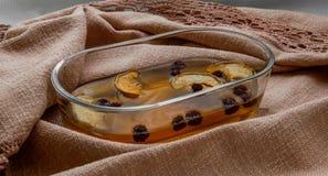 Cadeaux d'automne chaud de froid d'été Photo stock