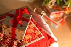 Cadeaux d'an neuf photo stock