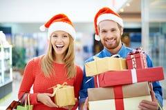 Cadeaux de achat photo libre de droits