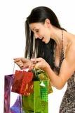 cadeaux de couleur images stock
