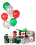 Cadeaux de fête de Noël Photo stock