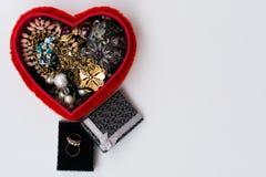 Cadeaux de jour du ` s de Valentine Image stock