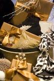 Cadeaux de luxe photo stock