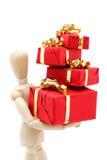 Cadeaux de Noël Image libre de droits
