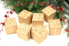Cadeaux de Noël photo stock