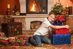 Cadeaux de Noël Images libres de droits