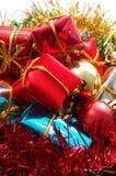 Cadeaux de Noël images stock