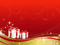 cadeaux de Noël Illustration Libre de Droits