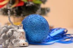 Cadeaux de Noël et d'an neuf Image libre de droits