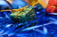 Cadeaux de Noël et d'an neuf Photos stock