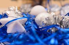 Cadeaux de Noël et d'an neuf Photo stock