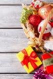 Cadeaux de Noël pour des amis et des parents Images libres de droits
