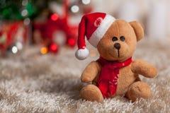 Cadeaux de Noël sous l'arbre Images libres de droits