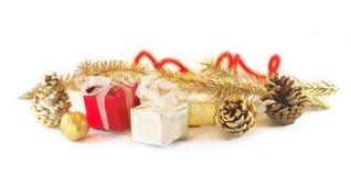 Cadeaux de nouvelle année photos stock