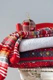 Cadeaux de pays de Noël Image stock