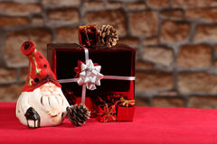 Cadeaux de Santa Image libre de droits