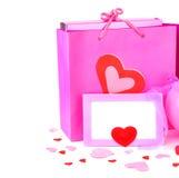 Cadeaux de vacances romantiques Photos stock