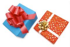 cadeaux deux Images stock