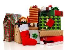 Cadeaux en abondance ! Photo stock