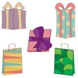 Cadeaux et présents Photographie stock
