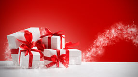 Cadeaux magiques Photos stock