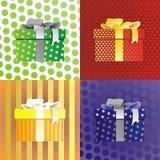 Cadeaux par des vacances Image libre de droits