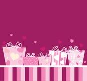 Cadeaux pour des amoureux Image stock