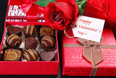 Cadeaux pour des valentines Images stock