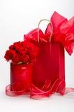 Cadeaux pour la rue Valentine Photos stock
