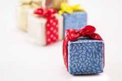 Cadeaux pour les vacances photographie stock