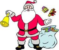 cadeaux Santa de Claus illustration libre de droits