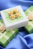 Cadeaux savonneux photo stock