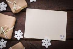 Cadeaux sur le Tableau Photographie stock