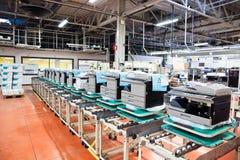 Cadeia de fabricação de dispositivos do escritório Fotos de Stock Royalty Free