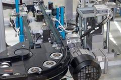 Cadeia de fabricação vazia close up Imagens de Stock
