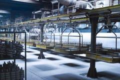 Cadeia de fabricação industrial Foto de Stock Royalty Free