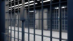 cadeia do interior 3d Fotos de Stock Royalty Free
