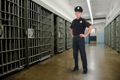 Cadeia, prisão, aplicação da lei, polícia fotografia de stock
