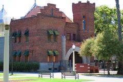 Cadeia velha do Condado de Kings imagens de stock royalty free