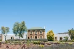Cadeia velha em Willowmore, África do Sul imagens de stock