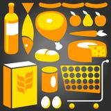 Cadeias alimentares ilustração do vetor