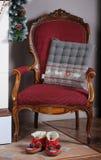 Cadeira acolhedor Foto de Stock