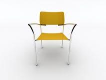 Cadeira amarela Imagens de Stock Royalty Free