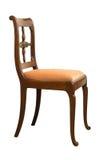Cadeira antiga de Biedermeier com cinzeladura de madeira Imagem de Stock Royalty Free