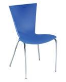 A cadeira azul ilustração do vetor