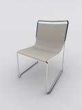 Cadeira branca ilustração stock