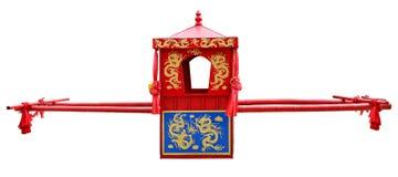 Cadeira chinesa do sedan imagens de stock