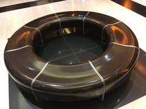 Cadeira circular Fotos de Stock