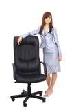 Cadeira contemporânea do escritório Imagens de Stock
